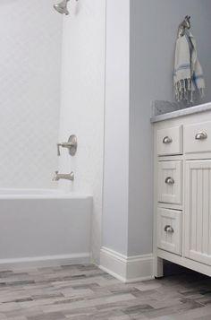 Useful Walk-in Shower Design Ideas For Smaller Bathrooms – Home Dcorz Bathroom Inspiration, Home Decor Inspiration, Bathroom Ideas, Attic Bathroom, Master Bathroom, Silver Bathroom, Bathroom Black, Walk In Shower Designs, Rustic Bathrooms