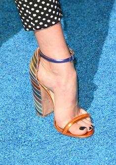 Peyton List Photos - Teen Choice Awards 2015 - Arrivals - Zimbio- heres one for the feet people Stilettos, Pumps, Shoes Heels, Beautiful High Heels, Beautiful Toes, Pretty Toes, Peyton List, Peyton Roi, Feet Soles