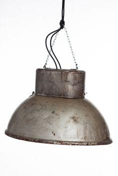 Predom Mesko 70s original design. Loft style. Industrial light lamp