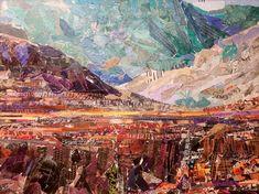 Grand Canyon, Abstract, Nature, Artist, Painting, Travel, Summary, Naturaleza, Viajes