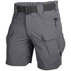 Helikon Outdoor Tactical Shorts are available now at Military 1st. Part of Helikon's Outdoor Tactical Line these breathable & lightweight cargo shorts come with 10 pockets, elastic waist & DuPont Teflon coating. Only £38! Find more details at Military 1st online store.