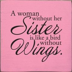 Love my sister! Love my sister too! Great Quotes, Quotes To Live By, Me Quotes, Funny Quotes, Inspirational Quotes, Bird Quotes, Family Quotes, Sibling Quotes, Humor Quotes
