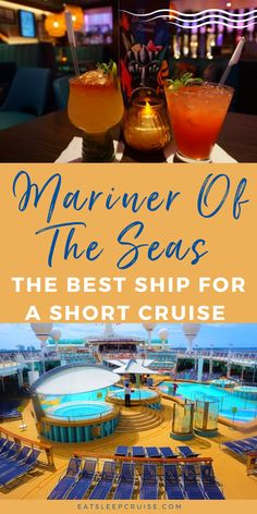 Are you tired of being housebound and dreaming of a quick getaway? Then you should consider a short Bahamas cruise on Royal Caribbean's Mariner of the Seas once cruising resumes. Here we outline the top 6 reasons this is the best ship for a short cruise vacation. From a variety of dining options, children's play area & programs, to plenty of nightlife options, and so much more. Check out all the details so you can start planning your next cruising adventure. Bahamas Cruise, Cruise Vacation, Short Cruises, Things To Do, Good Things, Royal Caribbean, Marines, Night Life, Ship
