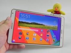 Samsung Galaxy Tab S 8.4 Review: tableta cu cel mai bun ecran din 2014, cea mai bună baterie şi acustică excelentă; Premiantul multimedia al anului! (Video) http://mbls.ro/1AQmCEG