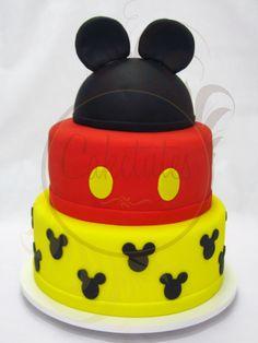 Caketutes Cake Designer: Bolo Mickey Mouse - Cake Mickey Mouse