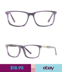 df42e08c245 Eyeglass Frames Square Womens Acetate Frame Rectangle Plastic Purple Violet Glasses  Spring Hinge  ebay  Fashion