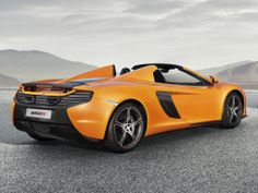 McLaren 650S Spider. Gorgeous addition to the already stunning McLaren line up.