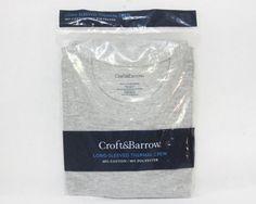 Croft & Barrow Grey Long Sleeve Thermal Crew Shirt - Medium Croft & Barrow http://www.amazon.com/dp/B00G5HWJT2/ref=cm_sw_r_pi_dp_0cYEwb1M3NGWQ