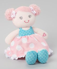 Take a look at the Baby Starters Pink Skirt Snuggle Buddy Plush Doll on #zulily today!