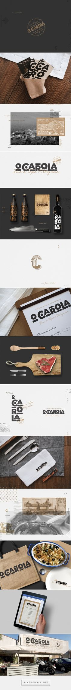 O C A R O L A Portuguese Restaurant Branding by MAU MARIA design de comunicação..
