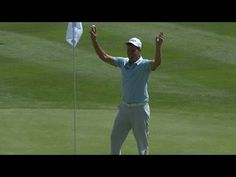 John Mallinger cards an ace on No. 11 at Barracuda [ ArtOfGolf.com ] #PGA #art #golf
