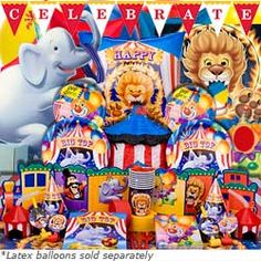 Circus Birthday Party- i like the ideas listed!