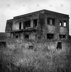 [photo by Sébastien Löffler] Deserted remains of a Bokor Hill Station building in Preah Monivong National Park, Bokor, Kampot, Cambodia
