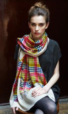 76 meilleures images du tableau Echarpes et foulards   Scarves ... fabf39a5f17