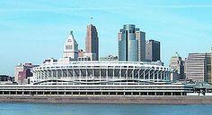 Riverfront Stadium (1970 - 2002) - Cincinnati Bengals