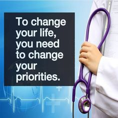 To change your life you need to change your priorities // follow us @motivation2study for daily inspiration #medstudent #medschool