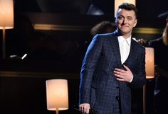 """Sam Smith wins 4 Grammys, Beck takes home album of the year - Sam Smith was the king of the Grammys, taking home three of the top four awards, including song and record of the year for """"Stay With Me,"""" and best new artist, while Beck won album of the year. Read more: http://www.norwichbulletin.com/article/20150208/ENTERTAINMENT/150209541 #Grammys #Music #Entertainment #Beck #SamSmith"""
