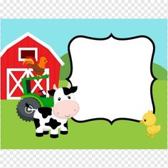 <br> Colorful thank you card in Farm Animals theme, perfect for boys & girls birthday party thank you card. Party Animals, Farm Animal Party, Farm Animal Birthday, Farm Birthday, Barnyard Party, Cow Birthday Parties, Birthday Cards, Farm Party Invitations, Farm Theme
