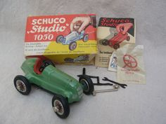 Schuco Tin Toy Car US Zone Germany with Box & by GentryAntiques, $300.00