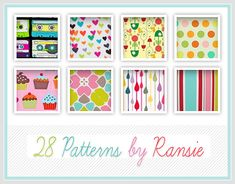 Useful Collection of Free Photoshop Pattern Sets