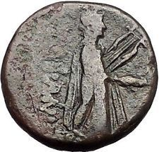 KOLOPHON in IONIA 1CenBC Poet Homer of ODYSSEY Apollo Ancient Greek Coin i55843 https://trustedmedievalcoins.wordpress.com/2016/05/30/kolophon-in-ionia-1cenbc-poet-homer-of-odyssey-apollo-ancient-greek-coin-i55843/