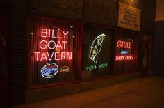 Da Billy Goat in downtown Chicago.  Food sucked, beer was cheap, the history and company of fellow journalists down in the dark of lower Wacker Drive was great.