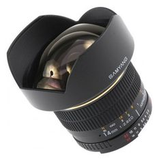 Samyang 14 mm IF ED UMC Aspherical This super wide-angle lens have been designed to work with Full-Frame and APS-C cameras. Nikon D7000, Wide Angle Lens, Canon Lens, Eos, Digital Camera, Smart Watch, Lenses, Gadgets, Shopping