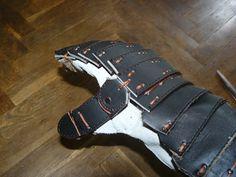 leather mitten pattern