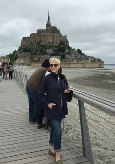 une femme d'un certain âge | Rooms With A View: Normandy (And Some Travel Outfits)