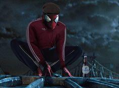 Slav Squatting Spiderman