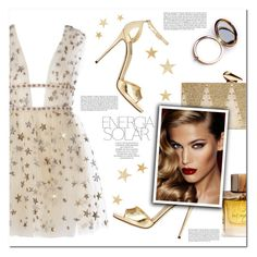 """Gold Energy"" by christinacastro830 ❤ liked on Polyvore featuring Dolce&Gabbana, KOTUR, Magdalena, Burberry, Odeme, Charlotte Tilbury and Haze"