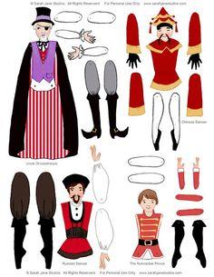 Puppet TheaterNussknacker Suite PDF von sarahjanestudios auf Etsy