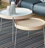 Une table basse gigogne pour rythmer le salon - Marie Claire Maison