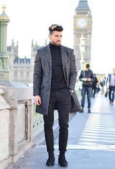 Winter Outfits For Work, Winter Fashion Outfits, Autumn Fashion, Fashion Ideas, Trendy Fashion, Classy Mens Fashion, Trendy Clothing, Fashion Hair, Clothing Ideas