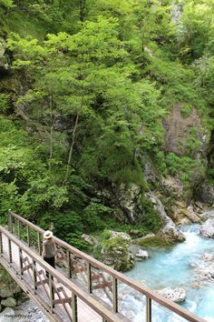 Hike through the Tolmin Gorge in Slovenia - travel report by Map of Joy