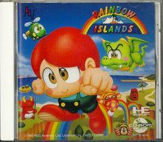 Rainbow Islands for PC Engine CD-ROM #PCEngine #Rainbow #Islands #Retro #Gaming