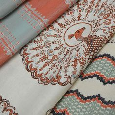 A preview of Titon Fenwick's anticipated textile collection produced in collaboration with Duralee.