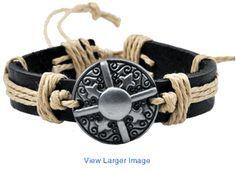 leather bracelet, Nepal leather bracelet