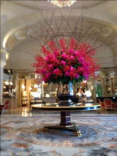 Flowers by Hotel de Paris Monaco