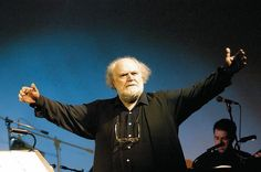 Yannis Markopoulos (born 1939): a Greek composer, whose work has been influenced by the Cretan traditional music. He composed music on the poetry of  Seferis and Elytis. In 1976 he composed the popular liturgy The Free Besieged, based on the poem by Greece's national poet Dionysios Solomos.  In 1977 he composed the music for the BBC television series Who Pays the Ferryman? The musical theme was a hit in Britain and gained the composer international renown. Music Composers, Greeks, Bbc, Britain, Musicians, Poems, Popular, Traditional, Modern