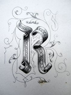"""From a book """"Gems of Penmanship"""" by Williams Packard, 1866"""