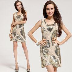 US  20.87 Shining Sequin Dress Sexy Party Dress. Tina Wong · Drop Shipping  Fashion woman clothing aa162b63c
