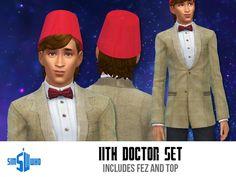 indiaskapie's Sim Who's 11th Doctor's Set