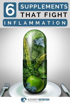 Inflammation is one of the leading drivers of many common diseases. Here are 6 supplements that can reduce inflammation, backed by science.