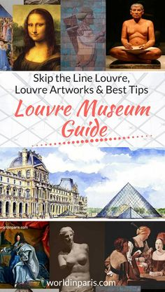 Louvre Museum Guide, Louvre tips, Louvre Artworks, Skip the Line Louvre, Visit the Louvre, First Trip to Paris, Paris Travel Tips #louvre #louvremuseum #paris