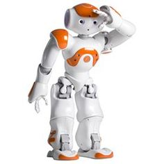 Nao Robot. The most advanced education robot made in France. This thing is amazing. Poker, bedtime stories, soccer, and more with downloadable apps.