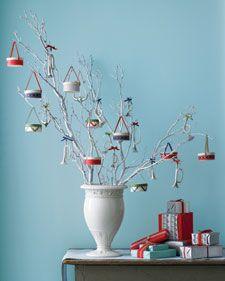 Drum ornament idea from Martha