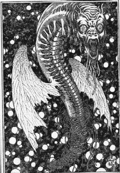 FROM 'BLACK BUTTERFLIES' BY ELMER BROWN MASON. FAMOUS FANTASTIC MYSTERIES. APRIL 1949, Virgil Finlay