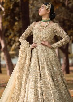 Shiza Hassan Bridal Collection 2019 Online features Pakistani Bridal & Wedding Dresses adorned with Embroidery, Zardozi, Tilla, Gold and Silver Thread Work. Desi Wedding Dresses, Asian Bridal Dresses, Pakistani Bridal Dresses, Pakistani Outfits, Party Wear Dresses, Designer Anarkali Dresses, Designer Dresses, Walima Dress, Indian Designer Wear