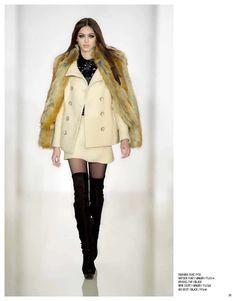 Fabiana coat, Hayden coat, Brooks top & Ari boot